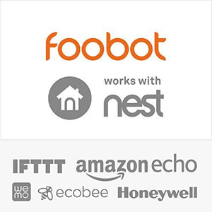 Air Quality Monitor by Foobot - New Indoor Air Quality Monitoring System - Automatically Tracks VOC PM2.5 Temperature Humidity - Works with iOS Android - Hands-off Control with IFTTT Nest and Others - Augment Hub
