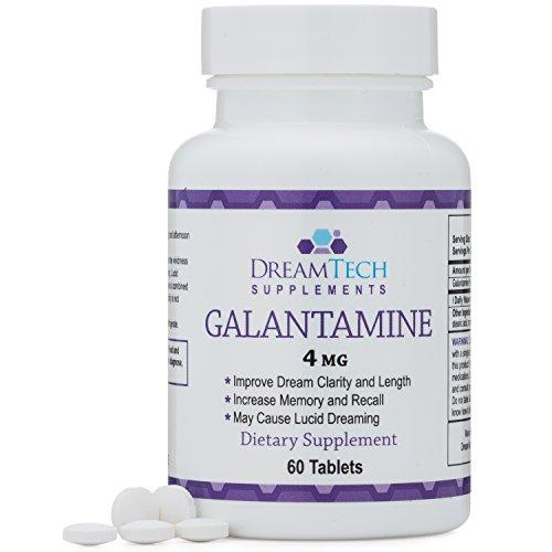 Galantamine - Lucid Dreaming & Nootropic Supplement - 4 Mg - 60 Tablets - Augment Hub