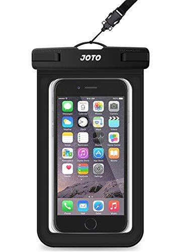 Universal Waterproof Case, JOTO Cellphone Dry Bag Pouch for iPhone X, 8/7/7 Plus/6S/6/6S Plus, Samsung Galaxy S9/S9 Plus/S8/S8 Plus/Note 8 6 5 4, Google Pixel 2 HTC LG Sony MOTO up to 6.0