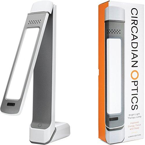 Circadian Optics Lumos 2.0 Light Therapy Lamp | Ultra Bright 10,000 Lux Full Spectrum LED Light (White) - Augment Hub
