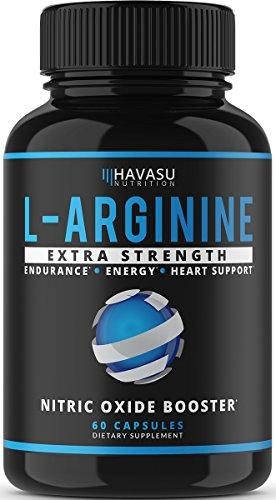 Extra Strength L Arginine - 1200mg Nitric Oxide Supplement for Muscle Growth, Vascularity & Energy - Powerful NO Booster With L-Citrulline & Essential Amino Acids To Train Longer & Harder - Augment Hub
