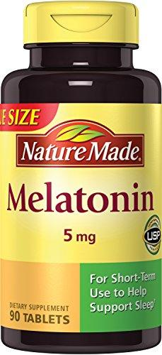 Nature Made Maximum Strength Melatonin 5 mg Tablets 90 Ct - Augment Hub