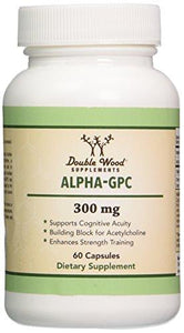 Alpha GPC Choline Supplement, Pharmaceutical Grade, Made in USA (60 Capsules 300mg) - Augment Hub
