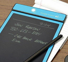 Boogie Board 8.5-Inch LCD Writing Tablet, Cyan (PT01085CYAA0002) - Augment Hub