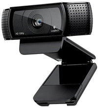 Logitech HD Pro Webcam C920, Widescreen Video Calling and Recording, 1080p Camera, Desktop or Laptop Webcam - Augment Hub