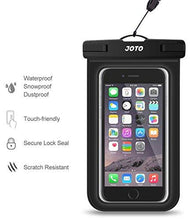 "Universal Waterproof Case, JOTO Cellphone Dry Bag Pouch for iPhone X, 8/7/7 Plus/6S/6/6S Plus, Samsung Galaxy S9/S9 Plus/S8/S8 Plus/Note 8 6 5 4, Google Pixel 2 HTC LG Sony MOTO up to 6.0"" – Black - Augment Hub"