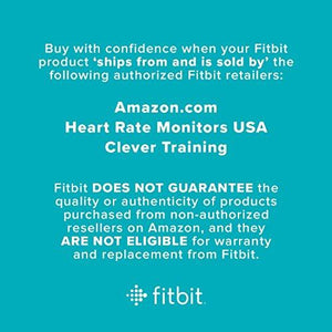 Fitbit Charge 2 Heart Rate + Fitness Wristband, Black, Large (US Version) - Augment Hub