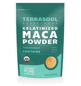 Terrasoul Superfoods Organic Gelatinized Maca Powder, 16 Ounce - Augment Hub