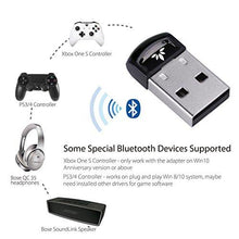 Avantree USB Bluetooth 4.0 Adapter Dongle for PC Laptop Computer Desktop Stereo Music, Skype Calls, Keyboard, Mouse, Support All Windows 10 8.1 8 7 XP vista - DG40S [2 Year Warranty] - Augment Hub