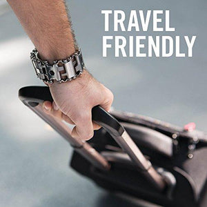 Leatherman - Tread Bracelet, The Original Travel Friendly Wearable Multitool, Stainless Steel (FFP) - Augment Hub