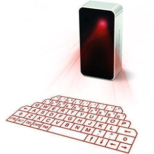 AGS Wireless Laser Projection Bluetooth Virtual Keyboard for Iphone, Ipad, Smartphone and Tablets - Augment Hub