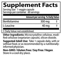 Doctor's Best Benfotiamine, Non-GMO, Vegan, Gluten free, Soy Free, Helps Maintain Blood Sugar Levels, 300 mg, 60 Veggie Caps - Augment Hub