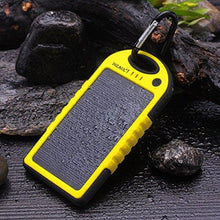 Solar Charger,Dizaul 5000mAh Portable Solar Power Bank Waterproof/Shockproof/Dustproof Dual USB Battery Bank for cell phone,iPhone,Samsung,Android phones,Windows phones,GoPro Camera,GPS and More - Augment Hub