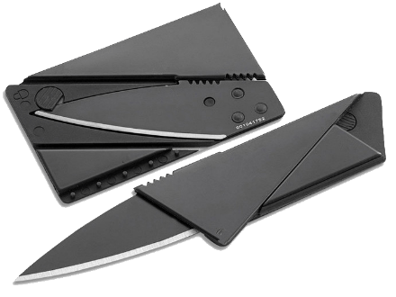 Free! Portable Credit Card Knife