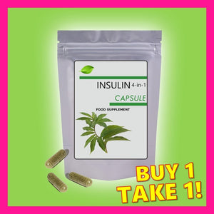 *Best Seller!* MSC Insulin 4-IN-1 Herbal Capsule