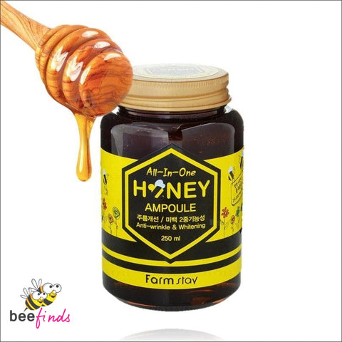 All-In-One Authentic Korean Anti-Wrinkle And Whitening Honey Ampoule - Beauty & Skin Care