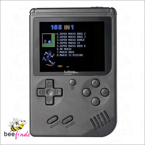 *best Seller!* 90S Gaming Console With 168 Classic Throwback Games - Fun & Entertainment