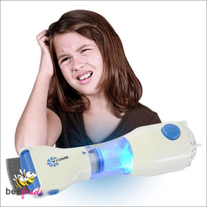 *best Seller!* Easy-To-Use Vacuum Comb Head Lice Remover - Health & Personal Care