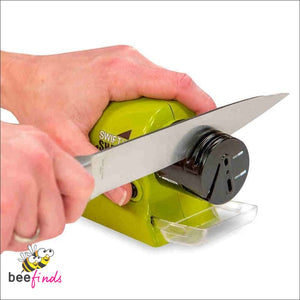 Cordless Motorized Knife Sharpener - Tools & Gadgets
