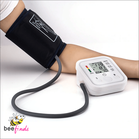 Easy-to-Use Electronic Arm Blood Pressure Monitor