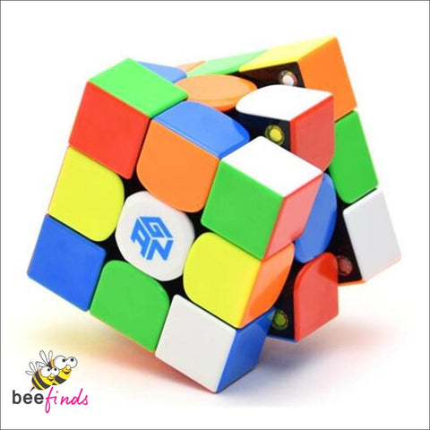 Fast Magnetic Speed 3X3 Rubiks Cube *stickerless!* - Fun & Entertainment