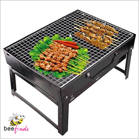 Foldable Barbeque Grill - Home & Living
