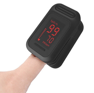 Easy-to-Use Finger Pulse Oximeter