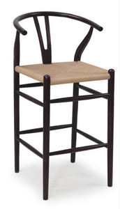 "38""H PIA WISHBONE COUNTER STOOL"