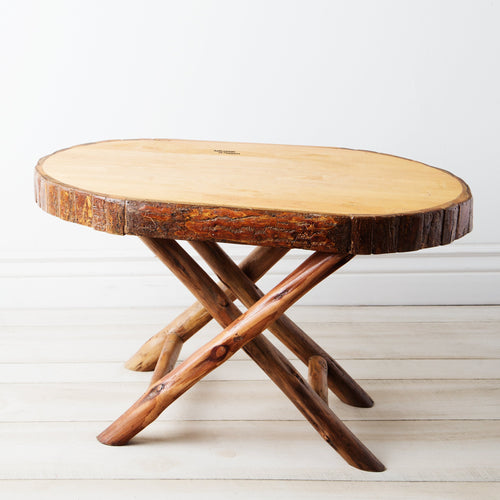 Acadian Bark Side Table