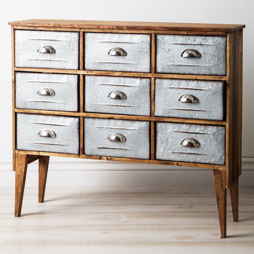 Malacca 9 Drawer Chest