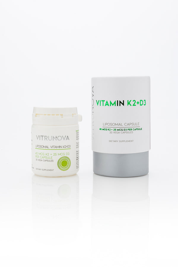 vitrunova liposomal vitamines k2 and d3 soft capsules