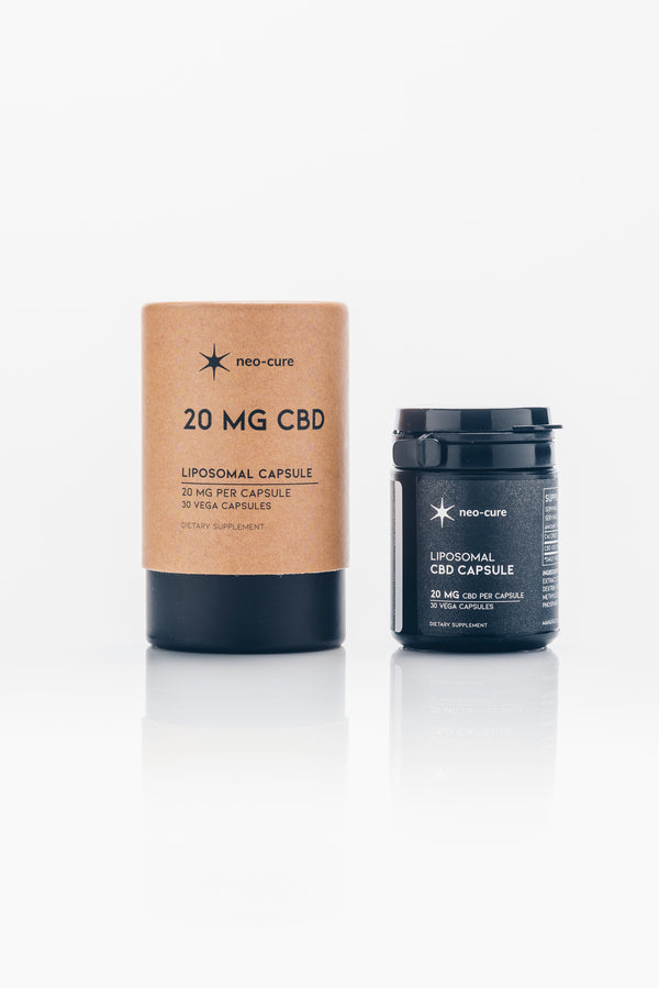 Neo Cure CBD capsules 20mg-When Nature Calls