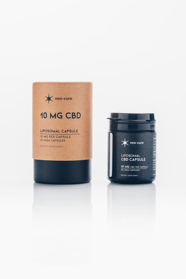 Neo Cure CBD capsules 10mg - When Nature Calls