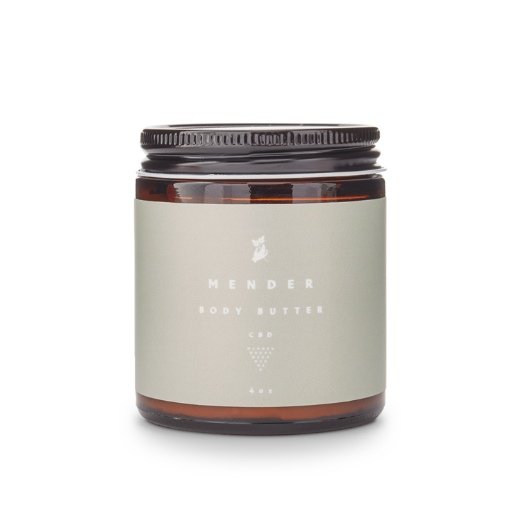 Mender CBD Body butter - When Nature Calls