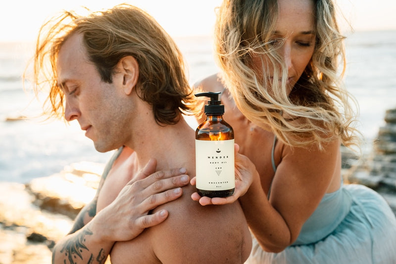 Mender CBD massage & body oil - When Nature Calls