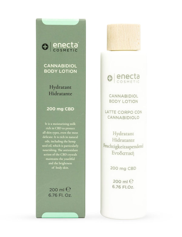 Enecta CBD body lotion from When Nature Calls
