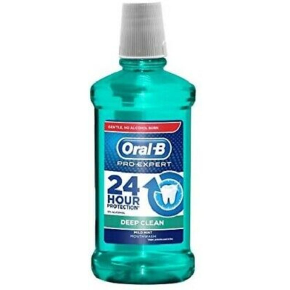 Oral-B Mouthwash Pro-Expert Deep Clean 500Ml (Pack Of 3) - Billjumla.com