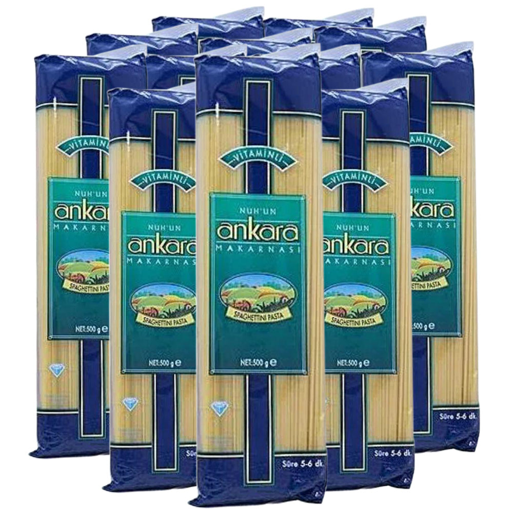 Ankara Vitaminli Spaghetti 500g - (Pack Of 20 Pieces)