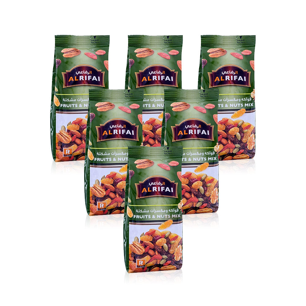Al Rifai Fruit & Nuts Mix 200g - (Pack Of 6 Pieces)