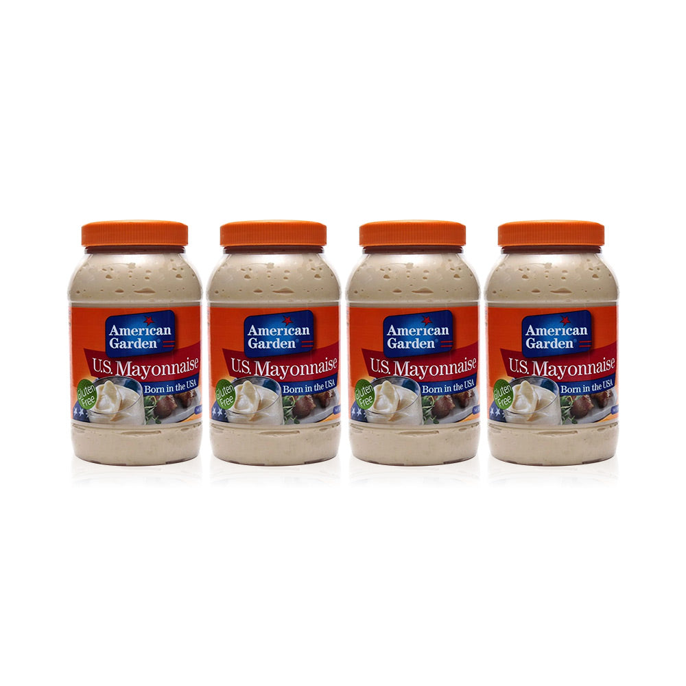 American Garden Mayonnaise 887ml (Pack of 4)