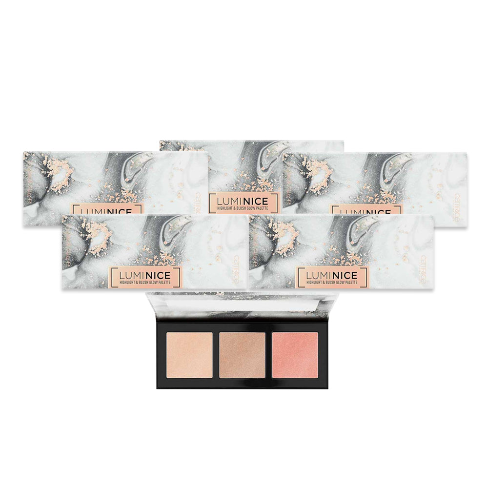 Catrice Luminice Highlight & Blush Glow Palette 010 - (Pack of 6)