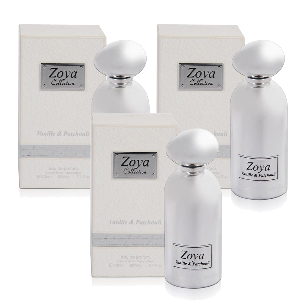 Zoya Vanilla & patchouli - (Pack Of 3) - Billjumla.com