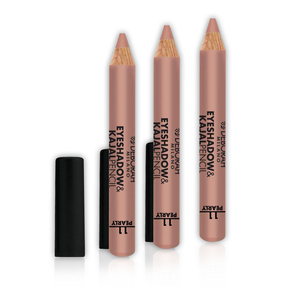 Deborah Eyeshadow & Kajal Pencil 11 - (Pack of3)