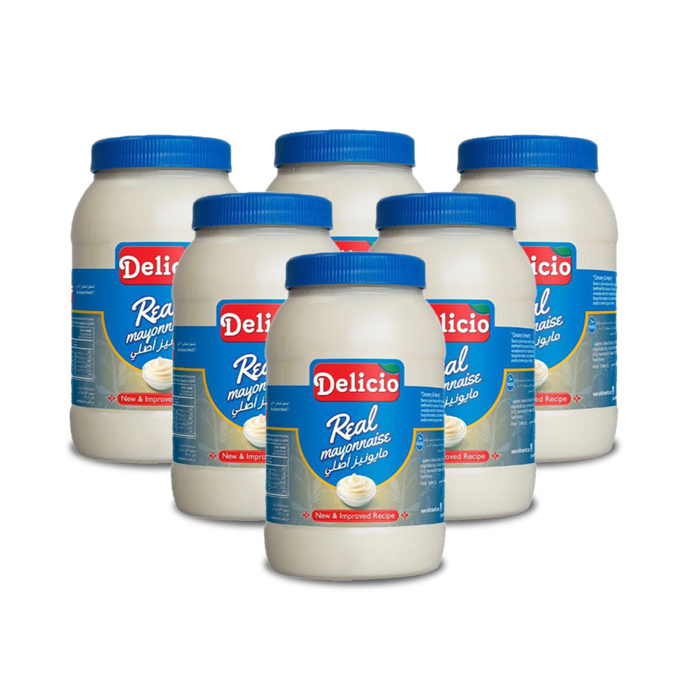 Delicio Real Mayonnaise Pet Bottle 946ml - (Pack Of 6)