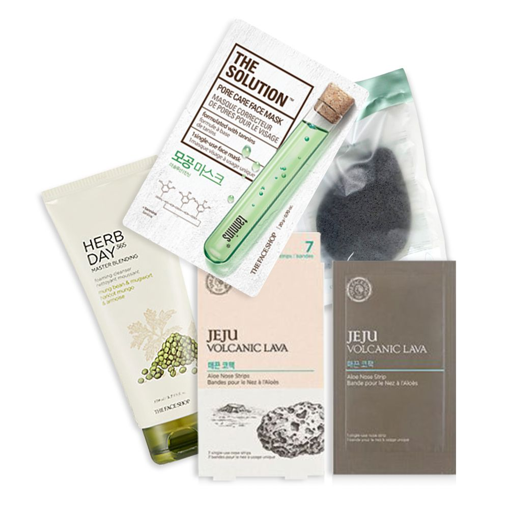 The Faceshop Deep Cleansing Set - Billjumla.com