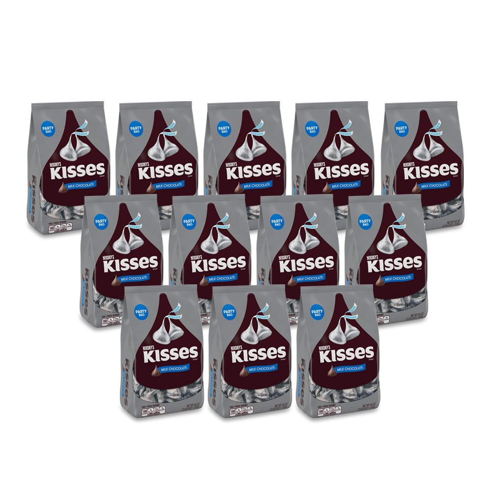 Hershey's Kisses Milk Pouch 150g - (Pack of 12)