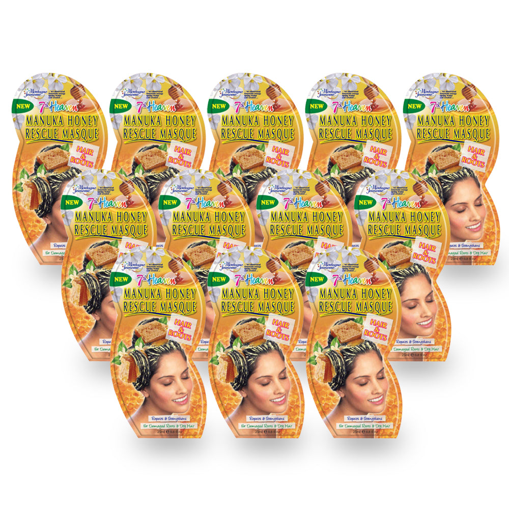Montagne Jeunesse Manuka Honey Hair Mask 25ml - (Pack of 12) - Billjumla.com