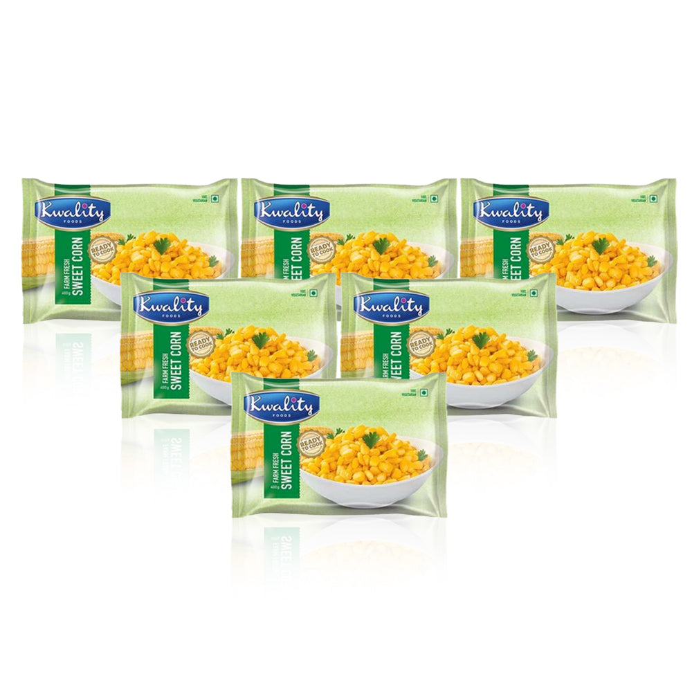 Kwality Sweet Corn 400Gm - (Pack Of 12)