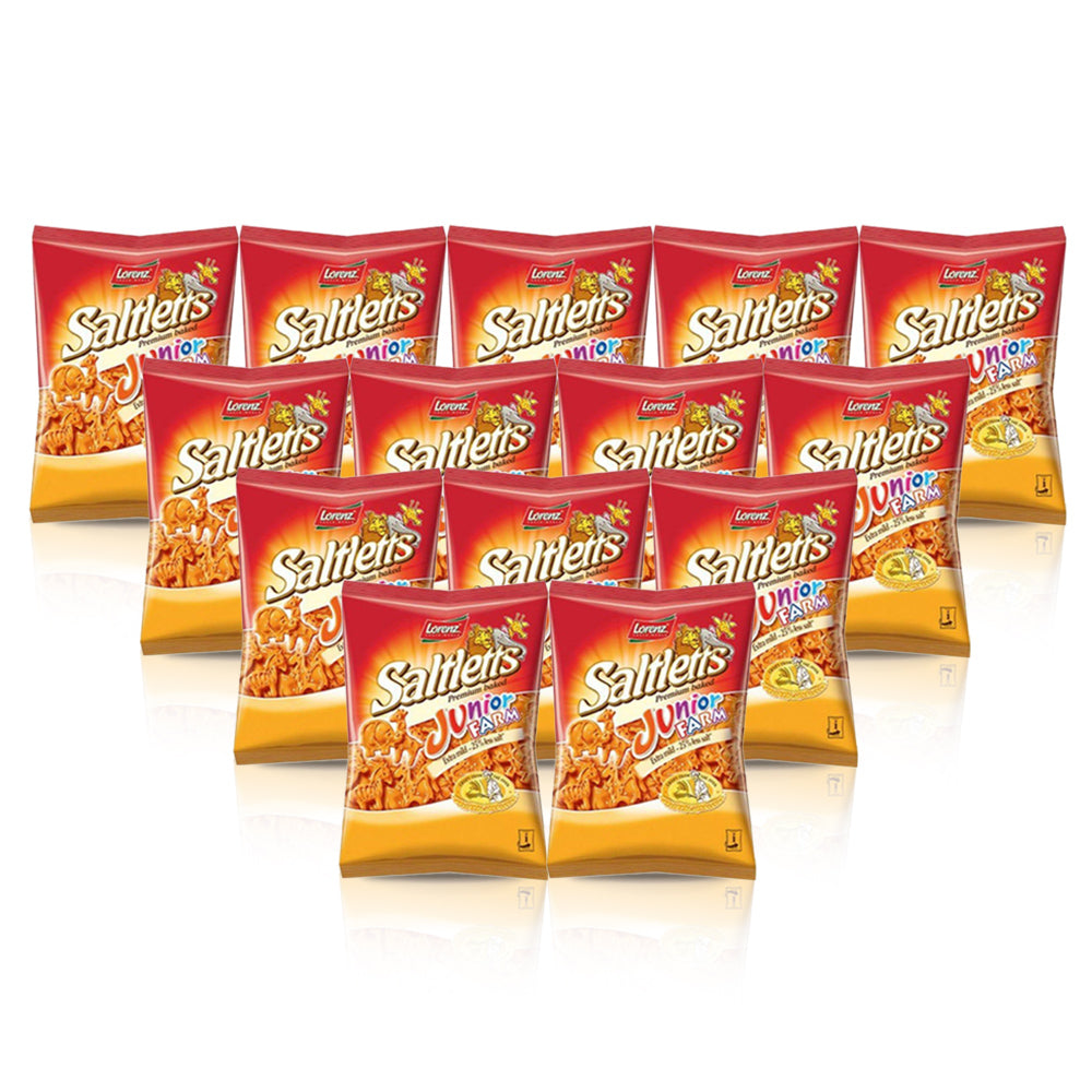Lorenz Saltletts Junior Farm 125g - (Pack of 14)