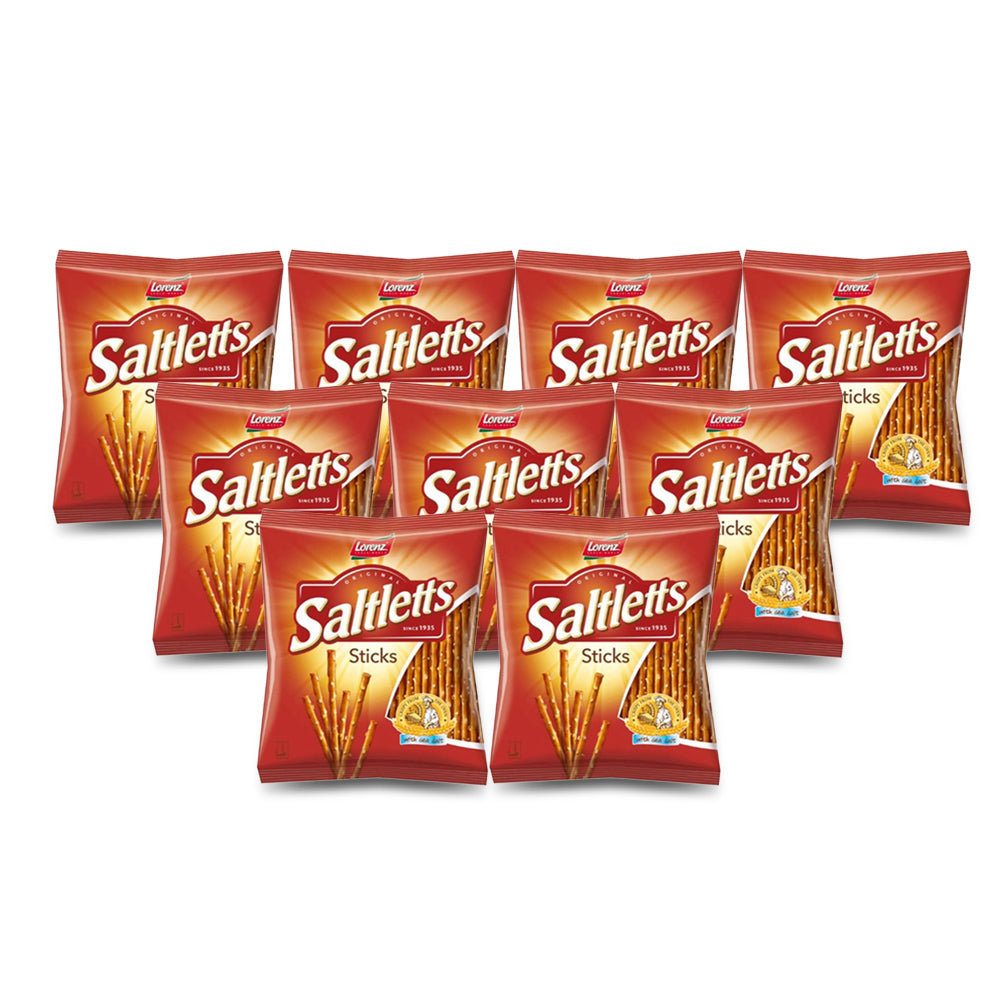 Lorenz Saltletts Sticks 150g (Pack of 9)